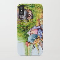 hippo iPhone & iPod Cases featuring hippo! by Rose Rigden