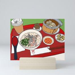Happy Dim Sum Platter Mini Art Print