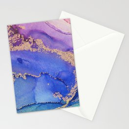 Dancing Mermaid - Abstract Ink - Part 1 Stationery Cards