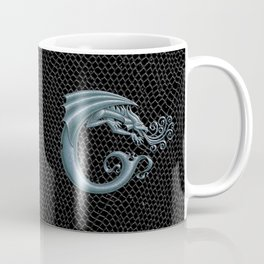 Dragon Letter C, from Dracoserific, a font full of Dragons. Coffee Mug