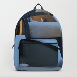 Snowy chair Backpack
