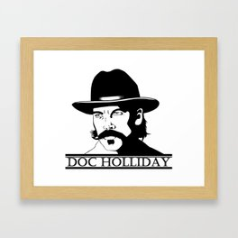 Doc Holliday Framed Art Print