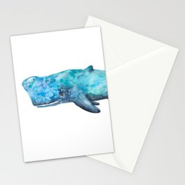 Atlas The Whale Stationery Cards