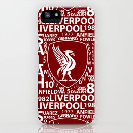 MixWords: Liverpool iPhone Case
