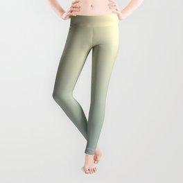 FADING AWAY - Minimal Plain Soft Mood Color Blend Prints Leggings