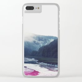 Low Tide in the Valley Clear iPhone Case
