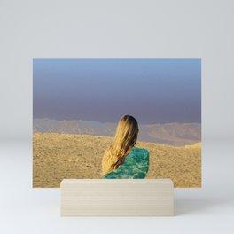 desert  Mini Art Print