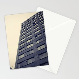 Skyscraper exterior view Stationery Cards
