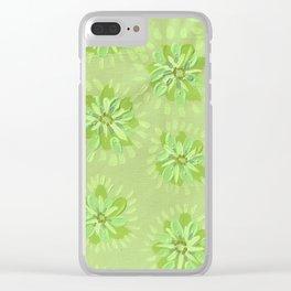 Pear Petal Rose Clear iPhone Case