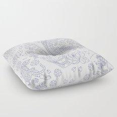 Japanese Tattoo Floor Pillow