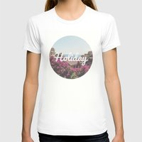 holiday T-shirts featuring Holiday by Laure.B