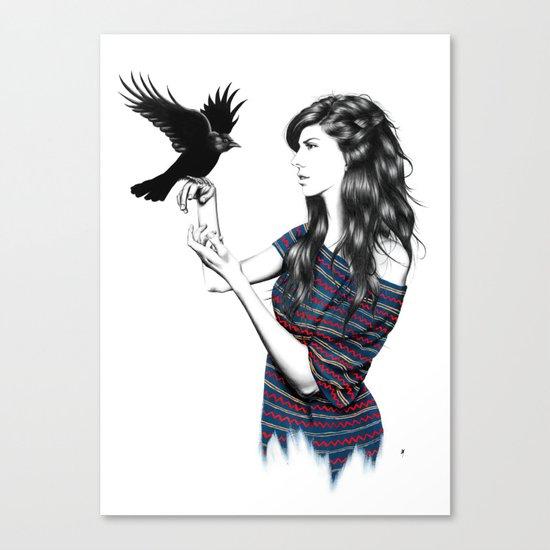Dark Wings Canvas Print