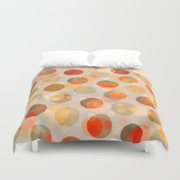 inception Duvet Covers featuring GOLDEN DAYS OF SUMMER by Daisy Beatrice