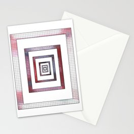 Infinite Rectangle Stationery Cards