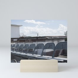 North Wilkesboro Speedway (Seating) Mini Art Print