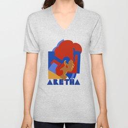 ARETHA Unisex V-Neck