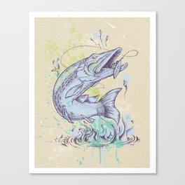 Pike Dream Canvas Print