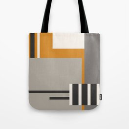 PLUGGED INTO LIFE (abstract geometric) Tote Bag