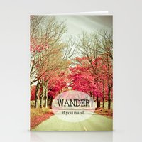 wanderlust Stationery Cards featuring Wanderlust by Olivia Joy StClaire