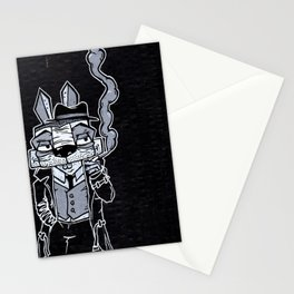 Blake Burns Detective Bunny Stationery Cards