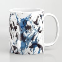 flight Mugs featuring FLIGHT by Teresa Chipperfield Studios