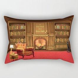 Book Fair Rectangular Pillow