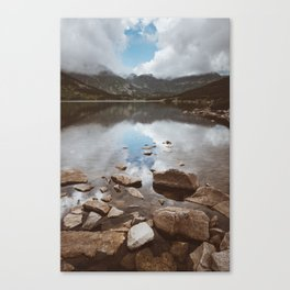 Mountain Lake - Landscape and Nature Photography Canvas Print