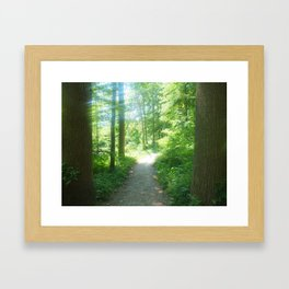 You Go First Framed Art Print