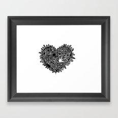 Lotta heart that city Framed Art Print