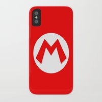 nintendo iPhone & iPod Cases featuring Nintendo Mario by JAGraphic