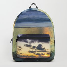 Sea storm approaches Backpack