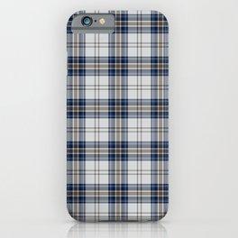 Summer Blue Plaid iPhone Case