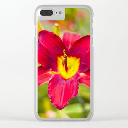 LAST BLOOM Clear iPhone Case
