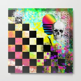 The Chess Board Of Death Metal Print