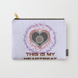 This Is My Heartbeat Carry-All Pouch