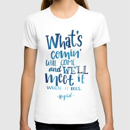 Wise Words of Hagrid T-shirt
