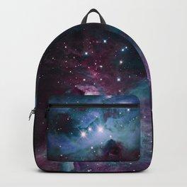 Orion Nebula Eggplant Blue Turquoise Backpack