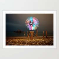 cabin pressure Art Prints featuring Pressure. by Pooka Photography