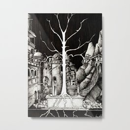 The dark plague Metal Print