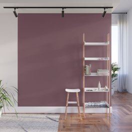 Solid Dull Purple Color Wall Mural