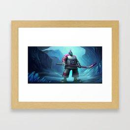 The Mighty Jax League of Legends Framed Art Print