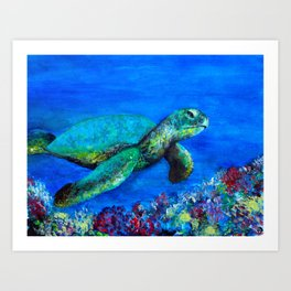 Look at my World (while there is time) Art Print