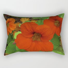 Nasturtium No.2 Rectangular Pillow