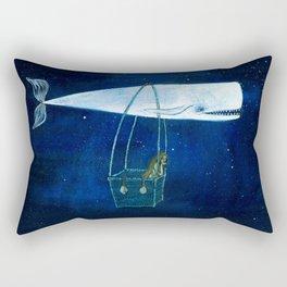 Flying the ocean Rectangular Pillow