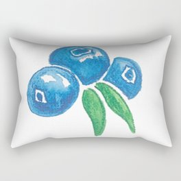 Why So Blueberry? Rectangular Pillow