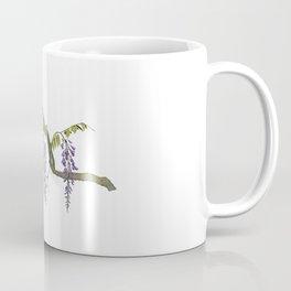 Cockatoos and Wisteria Coffee Mug