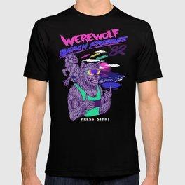Werewolf Beach Frisbee T-shirt