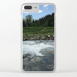 The Highlands Clear iPhone Case