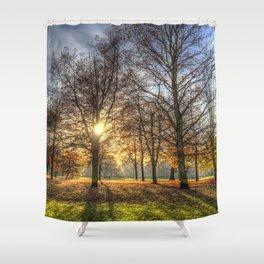 Autumn in Greenwich Park Shower Curtain