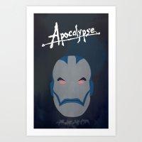 apocalypse now Art Prints featuring Apocalypse (Now) by AnthemTheFaux